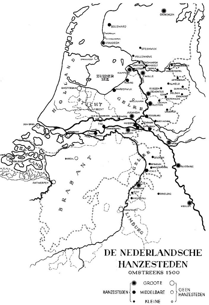 De Nederlandse Hanzesteden